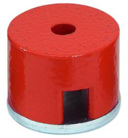 General Tools 372C 1x5/8 in Button Magnet