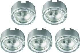 Good Earth Lighting G9165120-SSX-I 120v 5x20w Xenon Link Puck Ss