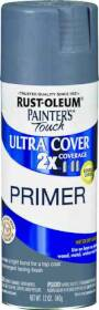 Rust-Oleum 249088 Painters Touch Spray Primer Ultra Cover 12 oz Gray