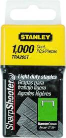 Stanley Tools TRA204T Staples 1/4 in LIGHT Duty Bx1000