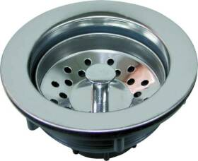 Worldwide Sourcing 80371 Plastic/Stainless Steel Top Sink Strainer
