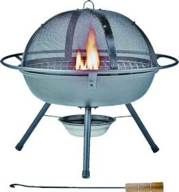 MintCraft OF-DC-FG-22113L Outdoor Fireplace W/Grill
