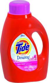 Procter & Gamble 13844 Tide Liquid With Downy Laundry Detergent 50 oz
