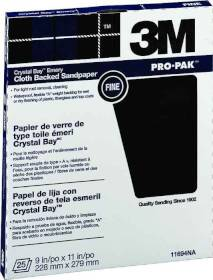 3M 11694 9x11 Fine Emery Cloth