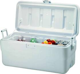 Rubbermaid Home 198200TRWHT 102 Qt Marine Cooler