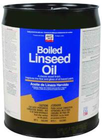 WM Barr CLO45 5 Gal Boiled Linseed Oil