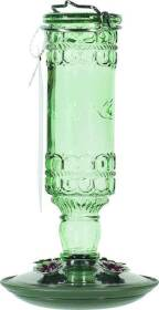 Woodstream 8108-2 Humbird Green Antique Bottle Feeder