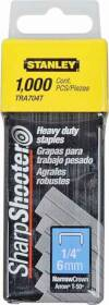 Stanley Tools TRA704T Staple 1/4 in heavy Duty Bx1000