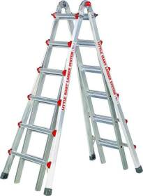 Little Giant Ladder 10126LGSW 26 ft 1a Extension Ladder W/Platform