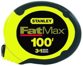 Stanley Tools 34-130 100 ft Stainless Steel Tape Rule