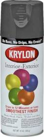 Krylon Products K05160100 Paint Spray Int Ext Latex Gls Black
