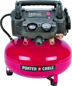Porter-Cable C2002 Air Compressor 150 PSI 6 Gal