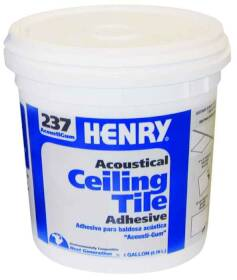 Ww Henry Company 237-044 Acoustic Ceiling Tile Adhesive