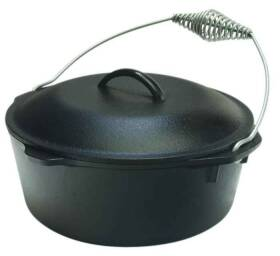 Lodge Mfg Co L8DOL3 Dutch Oven With Cover 5 Qt 10.25 In