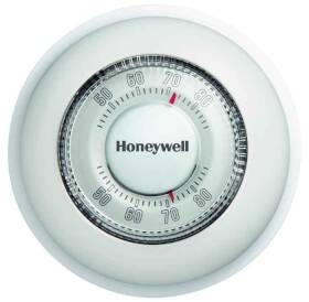 Honeywell CT87K Round Thermostat Heat Only