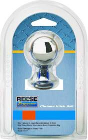 Reese Towpower 74025 Hitch Ball 2 in B X 3/4 in X3-3/8 in L
