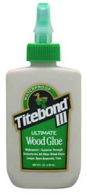 Franklin International 1412 4 oz Titebond 3 Wood Glue