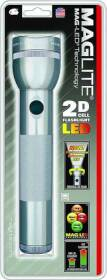 Mag Instrument ST2D096 Mag Flashlight Led 2d-Cell Gray