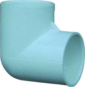 Genova 30705CP 1/2 in Pvc 90 Elbow Bag Of 10