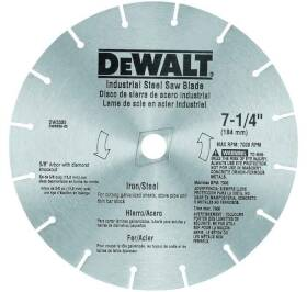 DeWalt DW3330 Circular Saw Blade, 7-1/4 in Diameter, 16 Teeth, 5/8 in Arbor