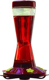 Woodstream 210P 16 oz Glass Hummingbird Feeder