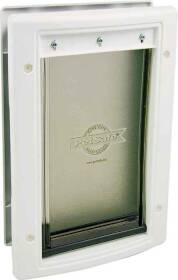 Radio Systems Corp HPA11-10968 Plastic Pet Door White Large