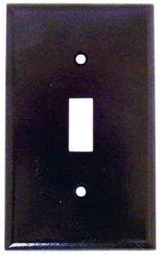 Cooper Wiring 2134B-BOX 1g Standard Brown Toggle Plate