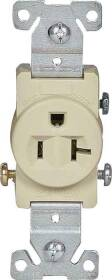 Cooper Wiring 1877V-BOX 20a 3wire Comm Single Receptacle