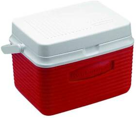 Rubbermaid Home 2A09-04 MODRD 5 Qt Classic Red Victory Cooler