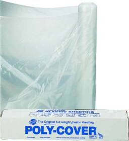 Lbm Poly 6X20-C 20x100 ft 6mil Clear Poly Film