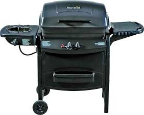 Char Broil 463720110 35k Btu Lp Gas Grill W/Side Burner