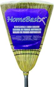 Homebasix 105 Household Corn Broom Mtl. Hndl