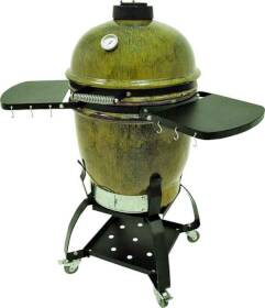 Barbour Int'l 500-515 Ceramic Patio Grill With Stand