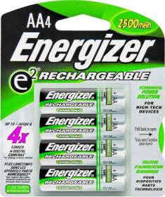 Energizer Battery NH15BP-4 Recharge Nimh Aa Battery 4pk