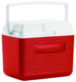 Rubbermaid Home 2A11-04 MODRD Red Cooler 10 Qt