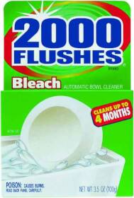 WD-40 Company 290071 2000 Flushes Chlorine Flush Tablets