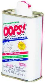 Homax 710755 Oops! All Purpose Remover 4.5 oz