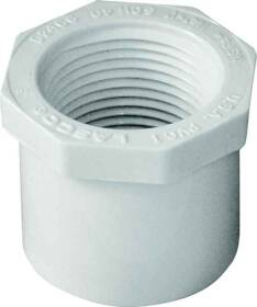 Genova 34240 1-1/4x1 Pvc Reducing Bushing