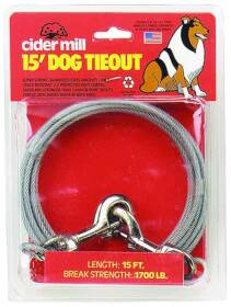 Aspen Pet 17015 15 ft 1700lb Pet Tieout Cable