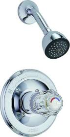 Delta Faucet 1324 Chrome Shower Faucet 1 Handle Press Balanced