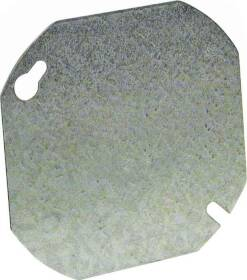Raco 722 4 in Octagon Flat Blank Cover