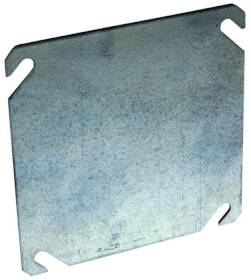 Raco 8752 4 in Sq Flat Blank Cover