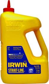 Irwin 65102 5lb Red Chalk