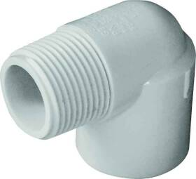 Genova 32807 3/4 in Pvc 90° Street Elbow