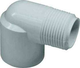 Genova 32815 1-1/2 in Pvc 90° Street Elbow