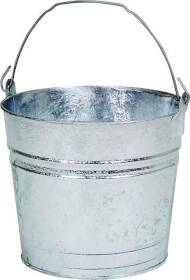 Dover Parkersburg 10 Galvanized Metal Water Bucket 10 Qt