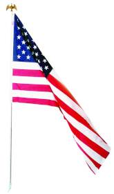 Valley Forge Flag US1-1 Trad Poly Cotton American Flag Kit