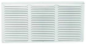 LL Building Products EAC16X4W 16x4 White Aluminum Undereve Vent