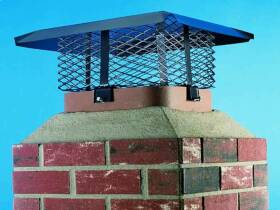 Hy-c Company SCADJ-S Adjustable Chimney Cap
