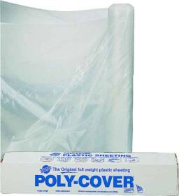 Lbm Poly 6X32-C 32x100 ft 6mil Clear Poly Film